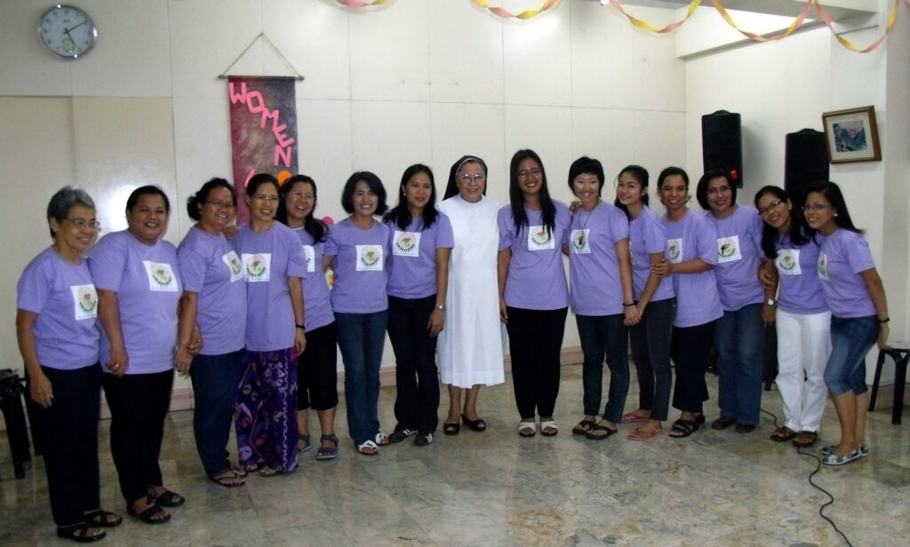 Renforcement des femmes par la formation Institute of Women's Studies IWS - Philippines 2