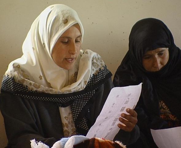 Formazione per le donne beduine «Ardina – la nostra Terra» - Sidreh 1